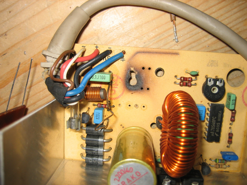 Avians Blog Commodore 128 Psu Dc Power Supply Circuit With Protector I Dont Know How Exactly This Could Have Happened Because The Has Both A Fuse And An Over Current Protection