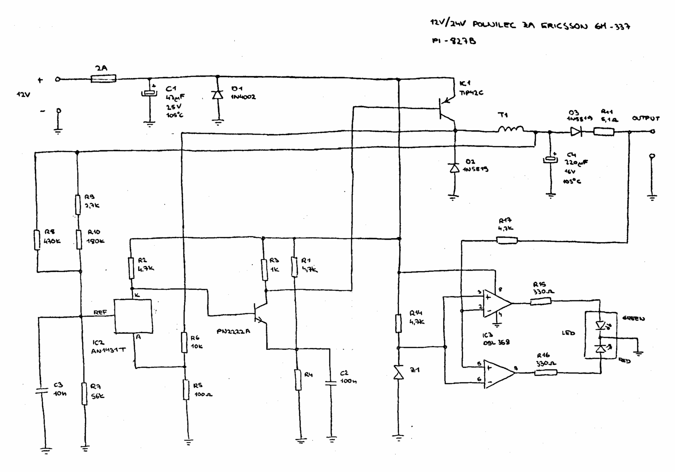 Avians Blog Archive For The Analog Category Page 7 7805 5v 1a Regulated Power Supply With Overvoltage Protection Circuit It Really Has A Bare Minimum Of Components If You Take Out Dual Op Amp Which Is There Only Enhancing User Experience Changes Color