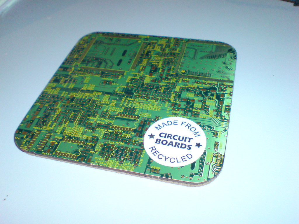Avians Blog Pcb Coasters Doublesided Printed Circuit Boards Coaster