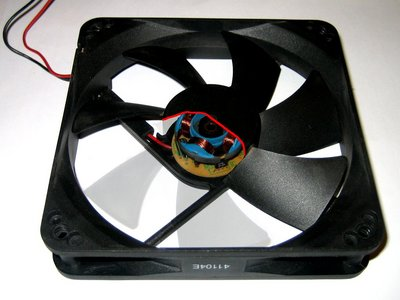Computer fan cut-out
