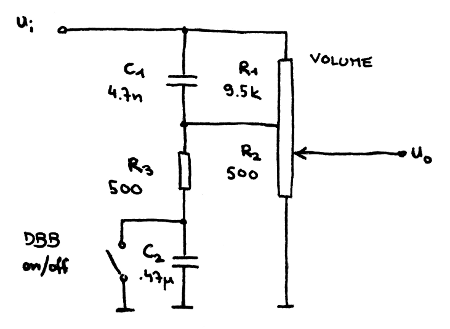 Bass Booster Circuit Diagram on wiring diagram for epiphone les paul
