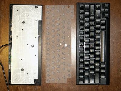 Disassembled Happy Hacking Keyboard Lite2 USB