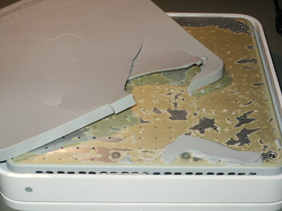 Apple Time Capsule with rubber seal removed