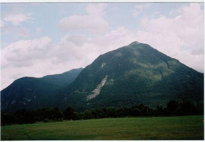 Javoršček above Bovec
