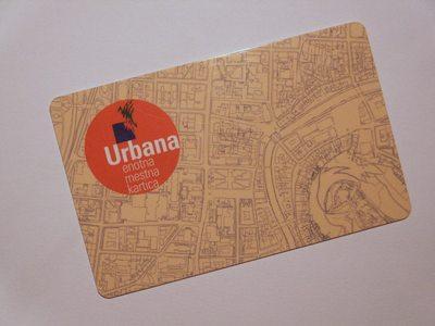 Urbana, enotna mestna kartica