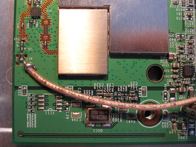 Detail of the SMC Barricade G circuit board