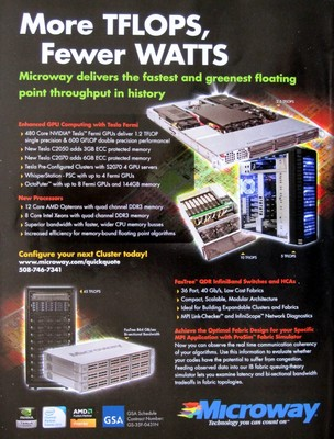 Microway advertisement