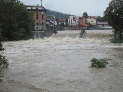 Hidroelektrarna Fužine on Ljubljanica