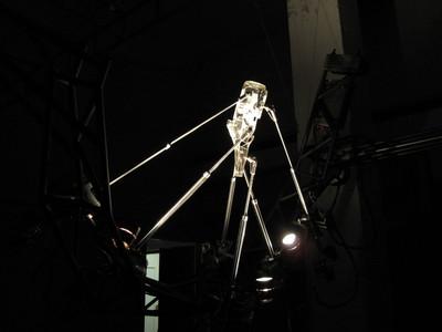 """Measuring Angst"" installation"