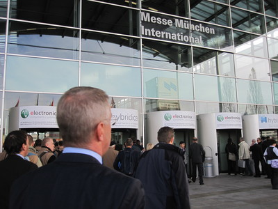 Entrance to Electronica 2010