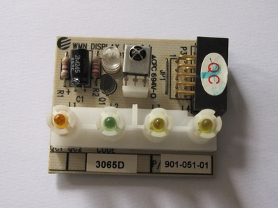 IR receiver board from an Airwell air conditioning unit.