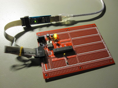 Assembled Protostack ATmega328 development kit