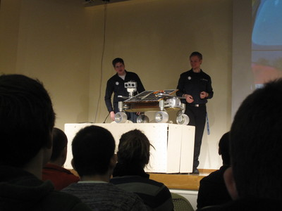 Part Time Scientists present a new rover at 28C3