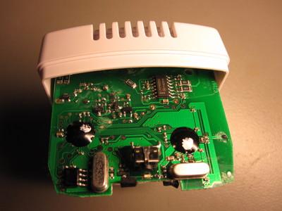 Energycount 3000 circuitboard, transmitter, top
