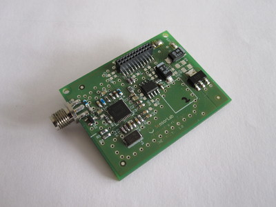 SNE-CREWTV, spectrum sensor for UHF and VHF bands