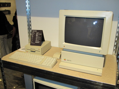 Apple II GS at GOTO 1982 exhibition
