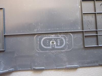 RFID tag on Kindle 3 back cover