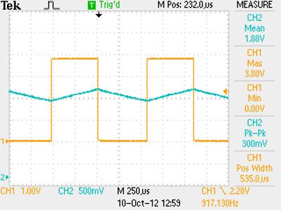 Capacitor measurement, dU/dt method