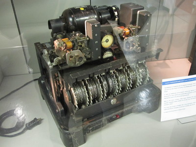 Lorenz cypher machine