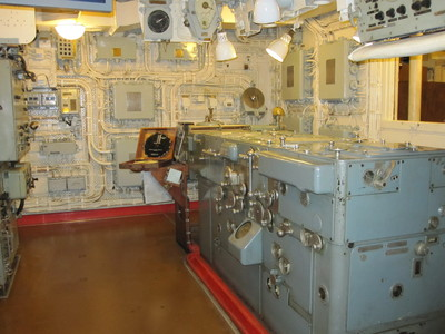 Admiralty Fire Control Table on HMS Belfast