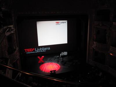 TEDx Ljubljana 2012 in Ljubljana opera house.