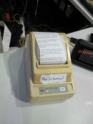 Printing all tweets with the #29c3 tag