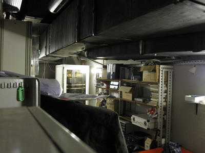 Kiberpipa server room.