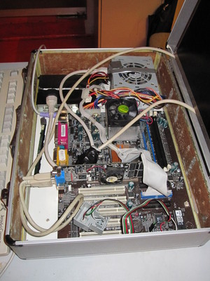 Kovchek, Kiberpipa's old mobile video streaming server.