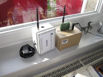 Stand-alone VESNA RF spectrum sensors.