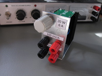 Re:load 2 constant-current load in a simple custom enclosure.