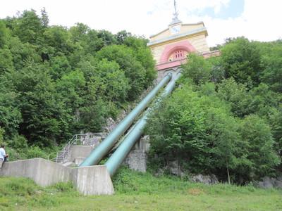 Surge tank of HE Završnica