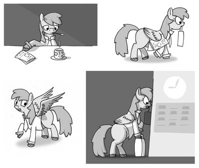 A working pony, a pony of science.