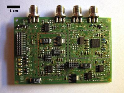 SNE-ESHTER analog radio front-end.