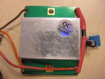 Microwave motion sensor module.