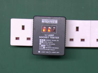 Rapitest 13 Amp Socket Tester