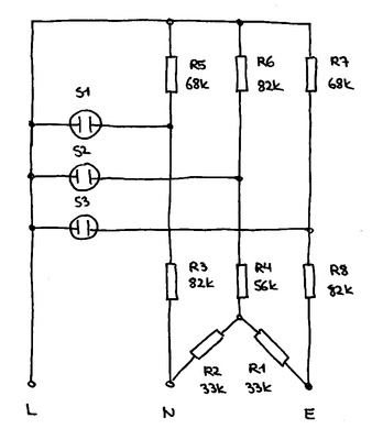 Schematic of the Rapitest Socket Tester