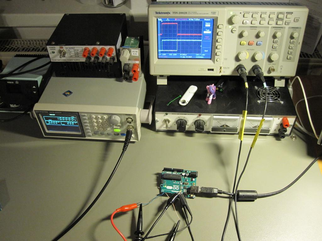Avians Blog Measuring Interrupt Response Times Wiringpi Input On Arduino