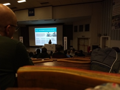Marietje Schaake on Next Generation Internet at FOSDEM 2018