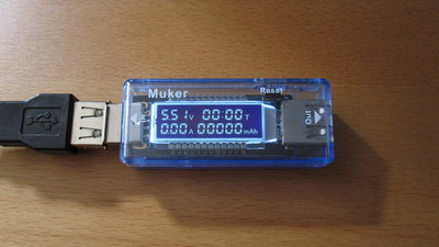 Muker V21 USB multimeter.
