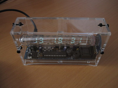 Adafruit's Ice Tube Clock.
