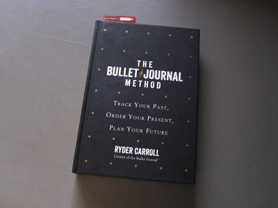 The Bullet Journal Method by Ryder Carroll.