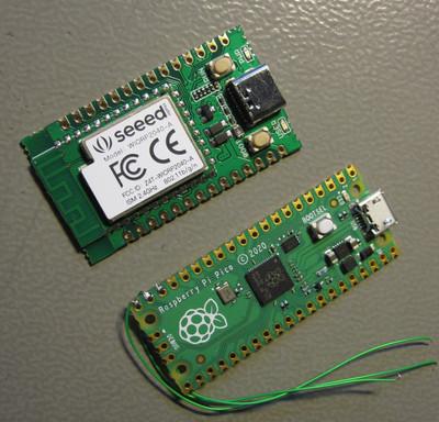 Wio RP2040 compared to Raspberry Pi Pico.